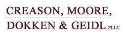 Firm Logo for Creason, Moore, Dokken, & Geidl, PLLC