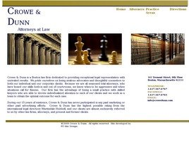 Crowe & Dunn Law Firm Logo