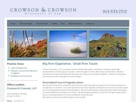 Crowson &amp; Crowson, LLP
