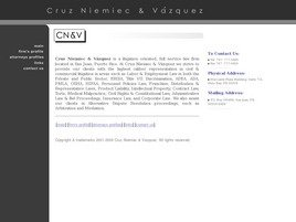 Firm Logo for Cruz Niemiec Vazquez