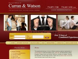 Firm Logo for Curran and Watson
