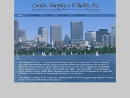 Curtin, Murphy & O'Reilly, P.C. Law Firm Logo