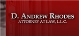 Firm Logo for D. Andrew Rhodes   Attorney at Law