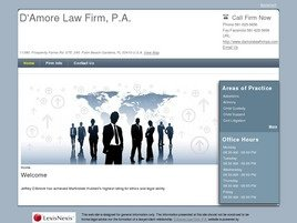 D'Amore Law Firm, P.A. Law Firm Logo