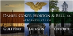 Daniel Coker Horton & Bell, P.A. Law Firm Logo