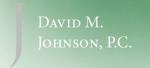 Firm Logo for David M. Johnson P.C.