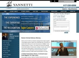 Yannetti Criminal Defense <br />Law Firm Law Firm Logo