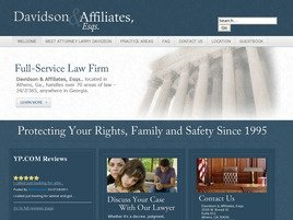Davidson & Affiliates, Esqs. Law Firm Logo