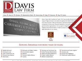 Davis, Clark, Butt, <br />Carithers & Taylor, PLC Law Firm Logo