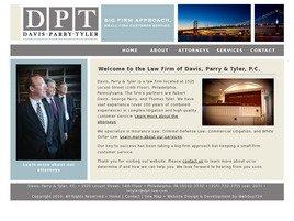 Davis, Parry & Tyler, P.C. Law Firm Logo