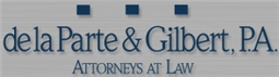 de la Parte & Gilbert, P.A. Law Firm Logo