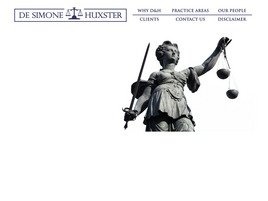 De Simone & Huxster Law Firm Logo
