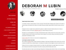 Deborah M. Lubin, P.C. Law Firm Logo