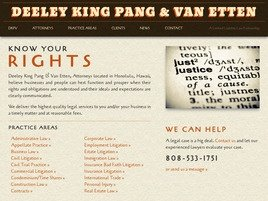 Deeley King Pang & Van Etten <br />A Limited Liability Law Partnership Law Firm Logo