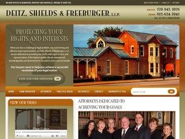 Firm Logo for Deitz, Shields & Freeburger, LLP