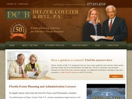 Firm Logo for Delzer, Coulter & Bell, P.A.