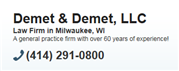 Demet & Demet, LLC Law Firm Logo