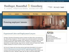Denlinger, Rosenthal & Greenberg <br />A Legal Professional Association Law Firm Logo