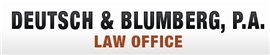 Deutsch & Blumberg, P.A. Law Firm Logo