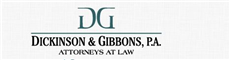Dickinson & Gibbons, P.A. Law Firm Logo