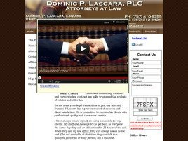 Firm Logo for Dominic P. Lascara, PLC