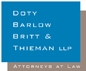 Firm Logo for Doty Barlow Britt Thieman LLP