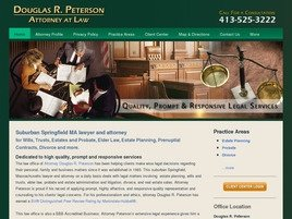 Firm Logo for Douglas R. Peterson
