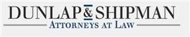Dunlap & Shipman, P.A. Law Firm Logo