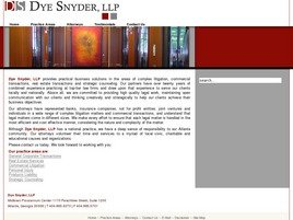 Firm Logo for Dye Snyder LLP