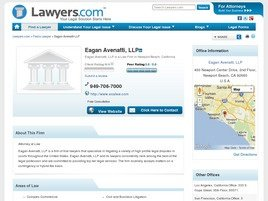 Eagan Avenatti, LLP Law Firm Logo
