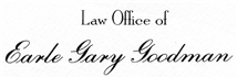 Firm Logo for Law Offices of Earle Gary Goodman