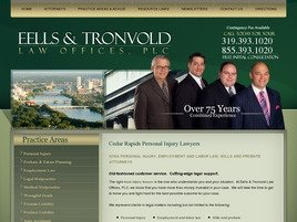 Firm Logo for Eells Tronvold Law Offices P.L.C.