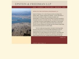Firm Logo for Epstein Friedman LLP