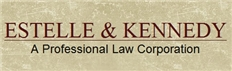 Estelle & Kennedy <br />A Professional Law Corporation Law Firm Logo