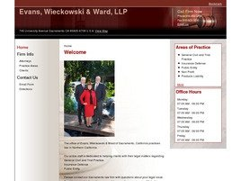 Evans, Wieckowski & Ward, LLP Law Firm Logo