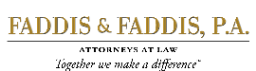 Firm Logo for Faddis & Faddis, P.A.