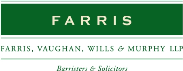 Farris, Vaughan, Wills & Murphy LLP Law Firm Logo
