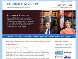 Firm Logo for Feinberg & Kamholtz