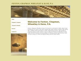Firm Logo for Fenton, Chapman & Kane, P.A.