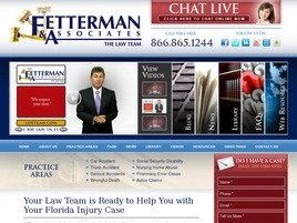 Fetterman & Associates, P.A. Law Firm Logo