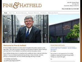 Firm Logo for Fine & Hatfield <br />A Professional Corporation