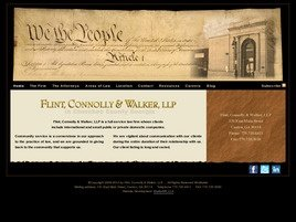 Firm Logo for Flint, Connolly & Walker, LLP