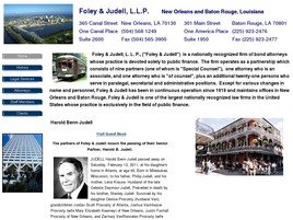 Foley & Judell, L.L.P. Law Firm Logo