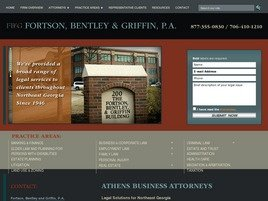 Fortson, Bentley and Griffin <br />A Professional Association Law Firm Logo