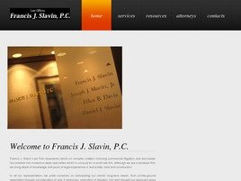 Firm Logo for Francis J. Slavin P.C.