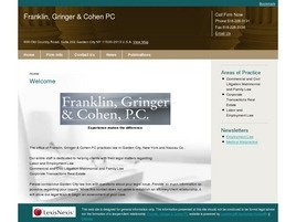 Firm Logo for Franklin Gringer Cohen PC