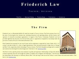 Firm Logo for Friederich Law