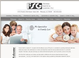 Fromm Smith and Gadow, P.C. Law Firm Logo