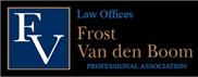 Frost Van den Boom, P.A. Law Firm Logo