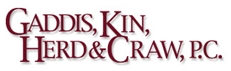 Gaddis, Kin, Herd and Craw, P.C. Law Firm Logo